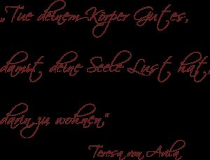Spruch Teresa von Avila