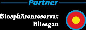 Partnerlogo Bioshärenreservat Bliesgau weiß