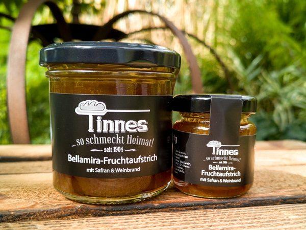 Tinnes-Bellamira-Fruchtaufstriche
