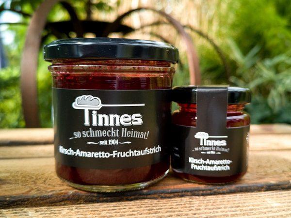 Tinnes-Kirsch-Amaretto-Fruchtaufstriche
