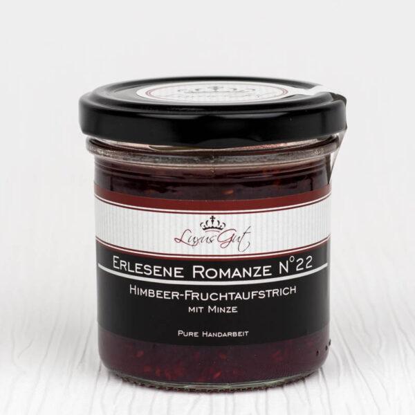Gourmet-Himbeer-Marmelade mit Minze
