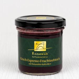 Kirsch-Espresso-Fruchtaufstrich mit Kaffeelikoer von der Reismuehle Kaffeemanufaktur