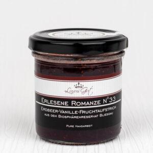 Erdbeer-Vanille-Marmelade aus dem Biosphaerenreservat Bliesgau