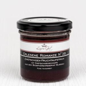 Zwetschgen-Gourmet-Marmelade mit Biosphaeren-Zwetschgen-Schnaps