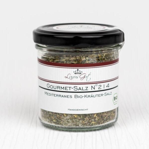 Mediterranes Bio-Kraeuter-Salz