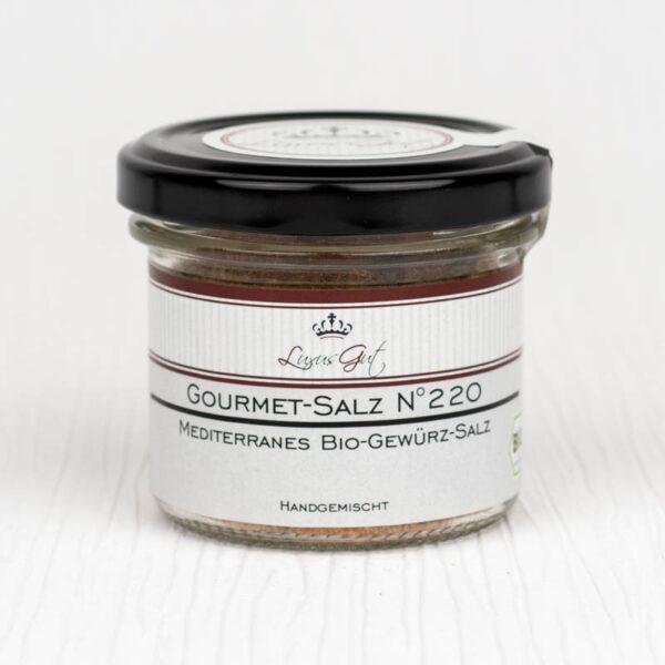 Mediterranes Bio-Gewuerz-Salz