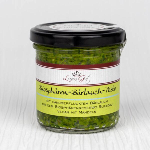 Veganes Biosphären-Bärlauch-Pesto mit Mandeln