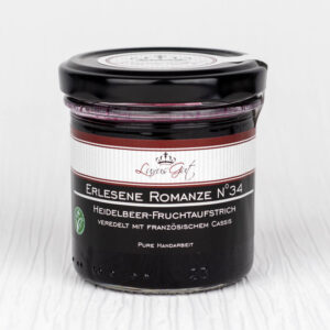 Gourmet-Heidelbeer-Marmelade mit französischem Cassis